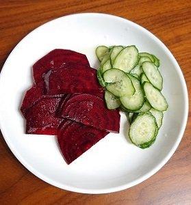 ビーツ食べる輸血